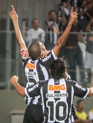Leonardo Silva, zagueiro do Atlético-MG, comemora gol (Foto: Bruno Cantini / Flickr do Atlético-MG)