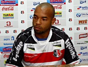 Tiago Costa - Santa Cruz (Foto: Pedro Costa/Globoesporte.com/PE)