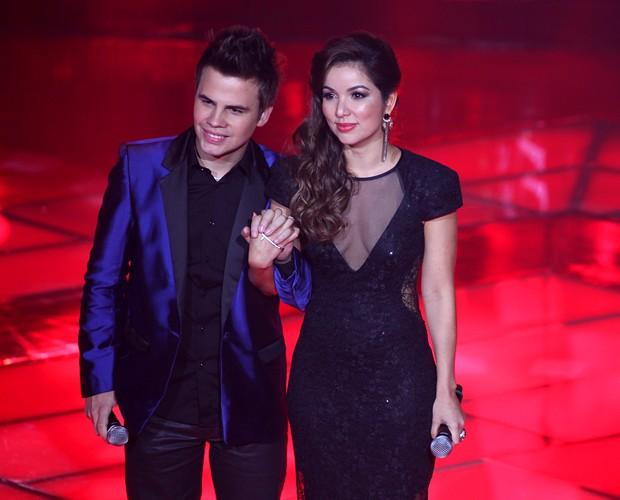 Danilo e Liah 620x500 (Foto: The Voice Brasil / TV Globo)