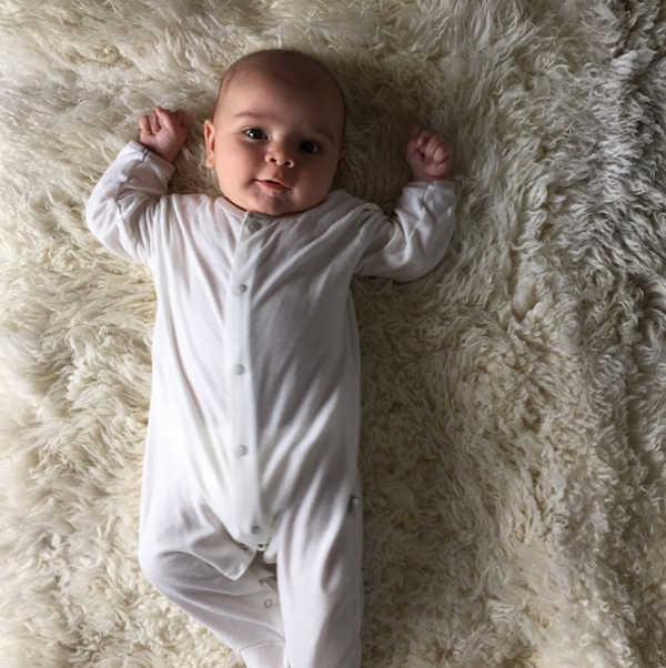 O filho de Kourtney Kardashian (Foto: Instagram)