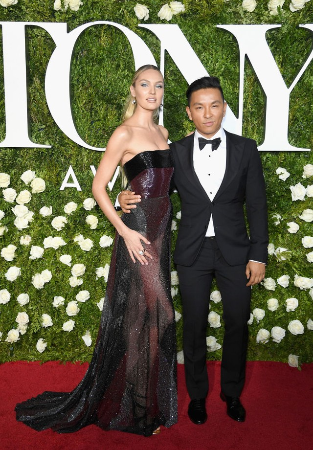 Candice Swanepoel e Prabal Gurung (Foto: Getty Images)