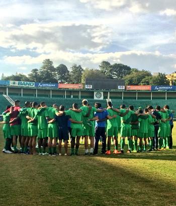 Guarani treino Brinco de Ouro (Foto: Gabriela Del Rio / Guarani FC)