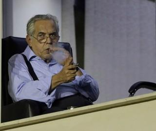 Eurico Miranda Vasco x Madureira (Foto: Cezar Loureiro / O Globo)
