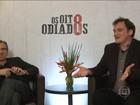 Tarantino diz, em entrevista exclusiva, que é o 'embaixador dos seus filmes'