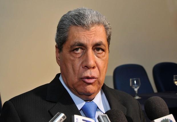 O ex-governador do Mato Grosso do Sul, André Puccinelli (PMDB) (Foto: Valdenir Rezende)