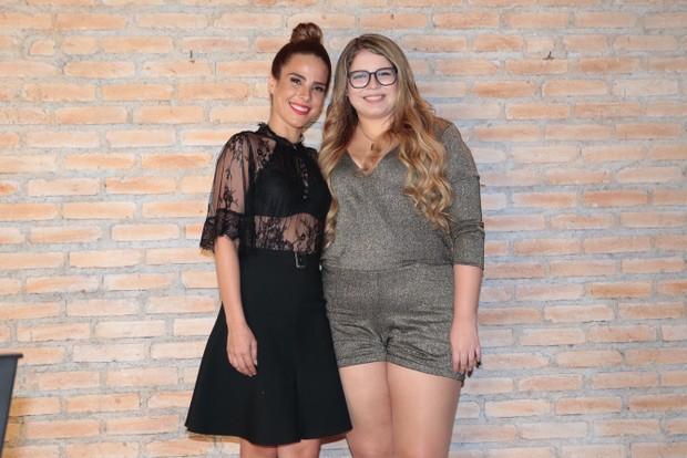Marca de Lingerie lança nova coleção em SP, com presença das garotas propagandas da marca, Marília Mendonça e Wanessa Camargo (Foto: Rafael Cusato / Ego)