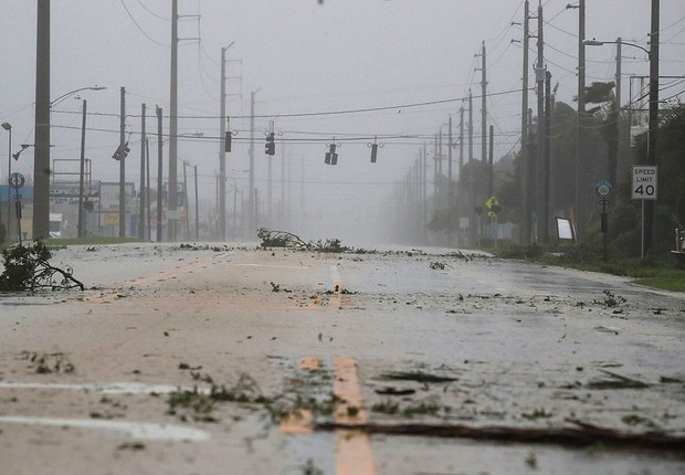 EUA sofrem com o furacão Matthew (Foto: Mark Wilson/Getty Images)