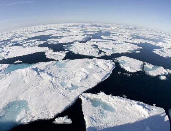 A Baía de Baffin, no Canadá (Foto: AP Photo/The Canadian Press, Jonathan Hayward)