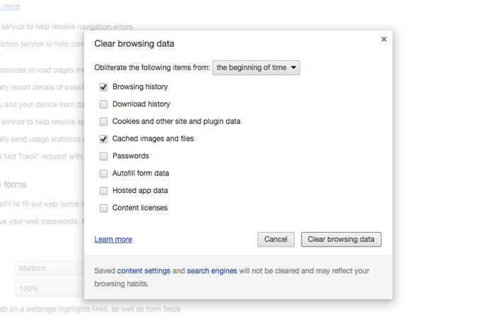 Opções do Google Chrome (Foto: Reprodução/André Sugai)