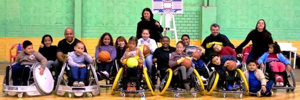 Alunos da Escola Paraolímpica Gaúcha (Foto: Divulgação)