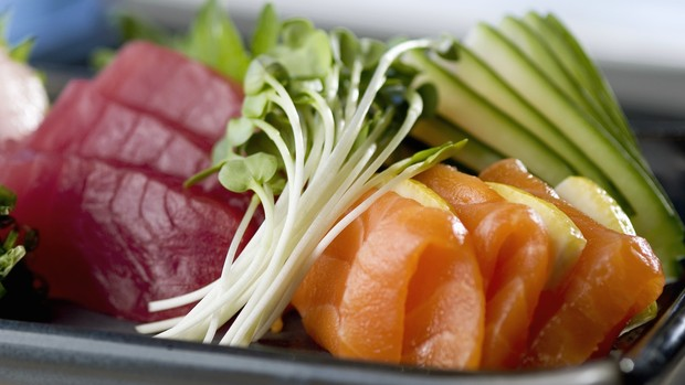 sashimi de salmão (Foto: Getty Images)