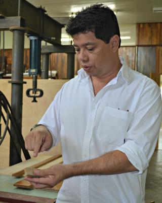 Orientador da pesquisa, o tecnólogo Dixon Gomes diz que estudos ainda estão no início (Foto: Caio Fulgêncio/G1)