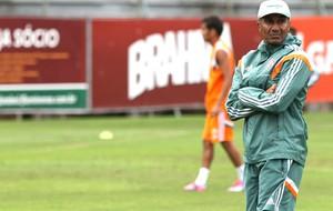 Cristovão Borges no treino do Fluminense (Foto: Nelson Perez / Site Oficial do Fluminense)
