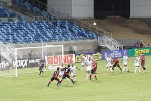 Luverdense, Vitória, Arena Pantanal (Foto: Olimpio Vasconcelos)