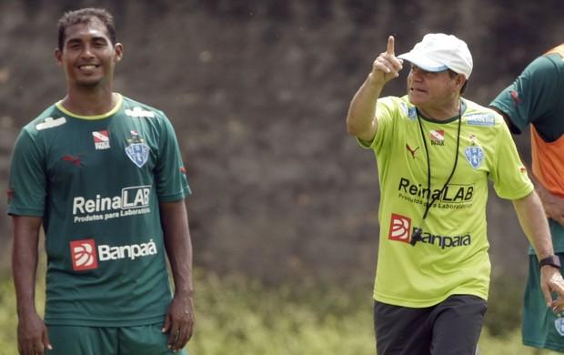 Arturzinho - técnico do Paysandu (Foto: Marcelo Seabra/O Liberal)