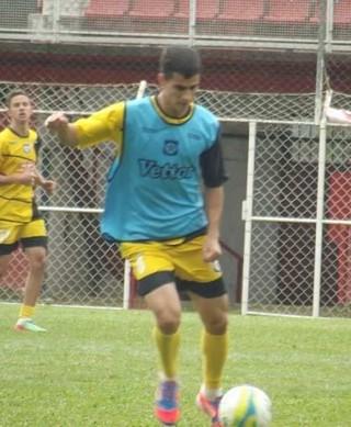 Tufy, jogador do Friburguense (Foto: Divulgação)