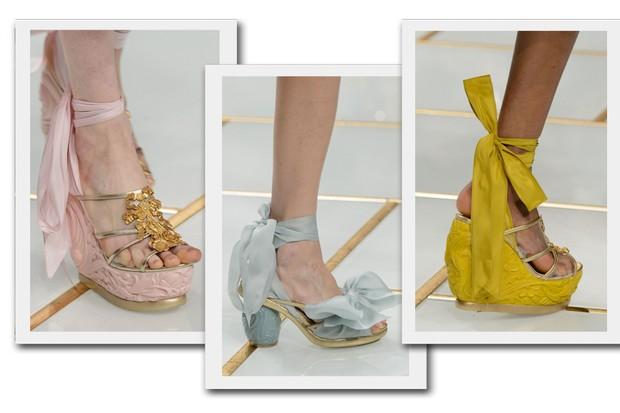 Sapatos Guo Pei (Foto: Reprodução)