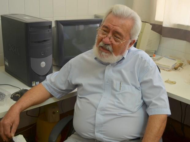Ary Werneck, aposentado, Piracicaba (Foto: Luiz Felipe Leite/G1)
