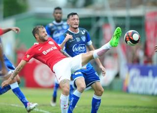 Nico López Cruzeiro x Inter-RS (Foto: Ricardo Duarte/Divulgação Inter)