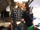Casal de modelos aposta em food truck saudável e emagrece junto