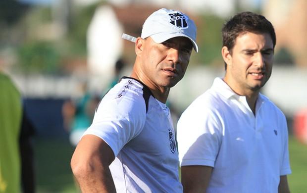 Sérgio Soares, técnico do Ceará (Foto: Divulgação/Cearasc.com)