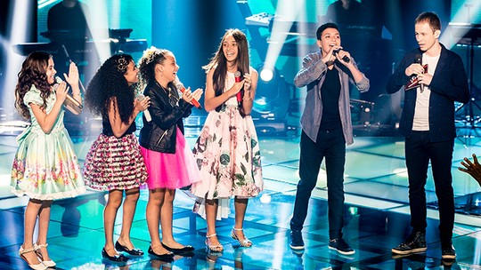 Wagner Barreto e Ana Beatriz Torres passam para a próxima fase do 'The Voice Kids'