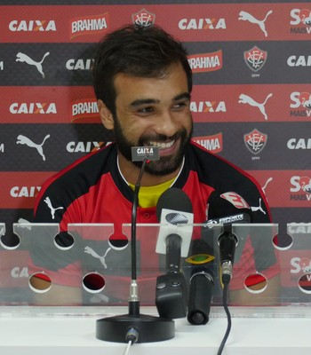 Gabriel Xavier; Vitória (Foto: R Santin/Divulgação/EC Vitória)