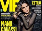 Manu Gavassi reclama de Photoshop em sua foto em revista: 'Deslavado'