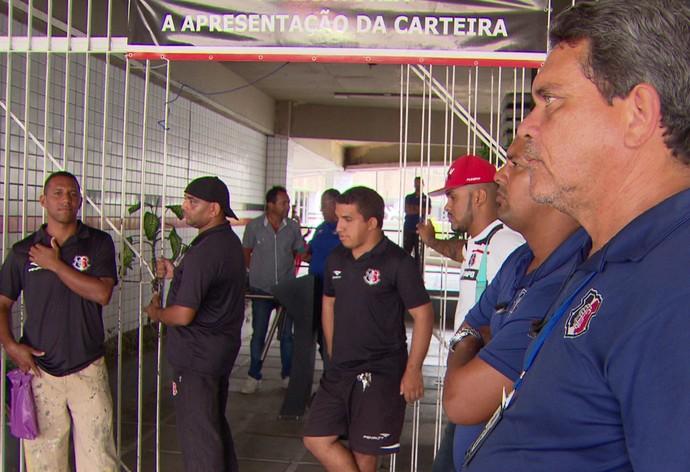 Santa Cruz Greve (Foto: Reprodução TV Globo)