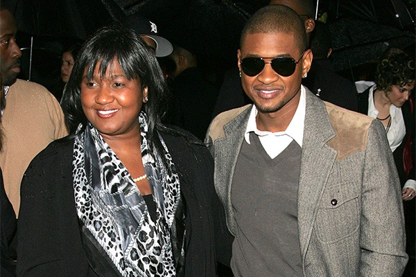 Jonetta Patton e Usher (Foto: Getty Images)