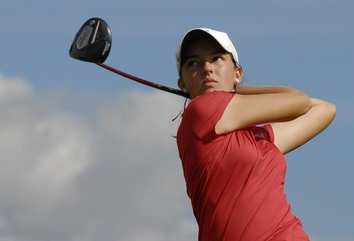 Luiza Altmann - golfe (Foto: Zeca Resendes /CBG)