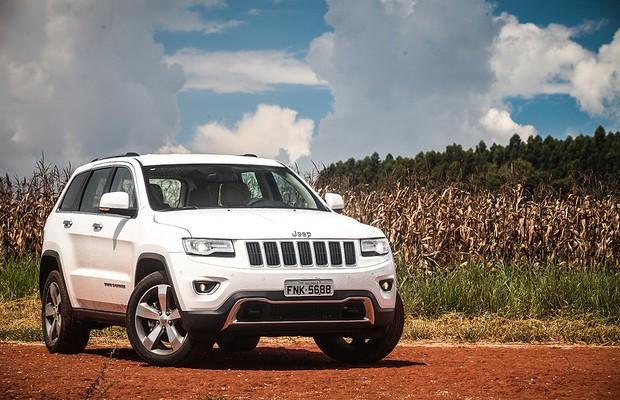 Jeep Grand Cherokee a diesel (Foto: Renato Durães)