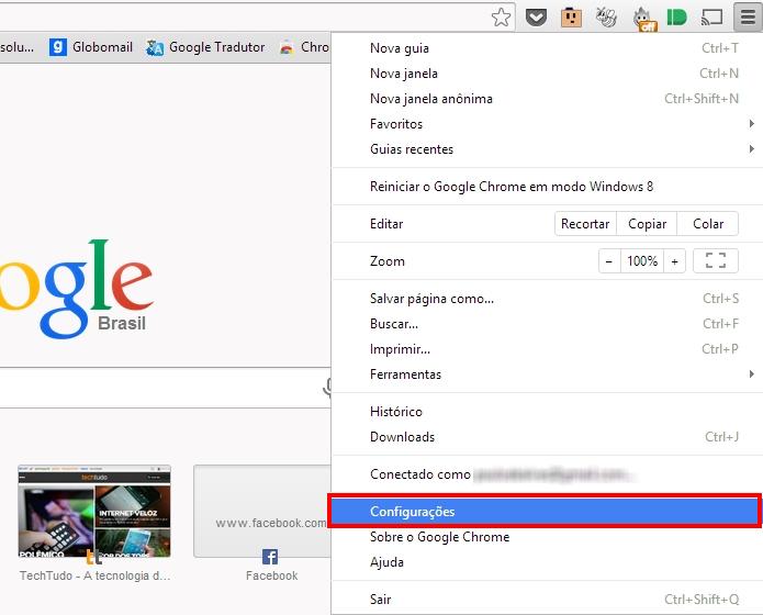 Como alterar o proxy do google chrome