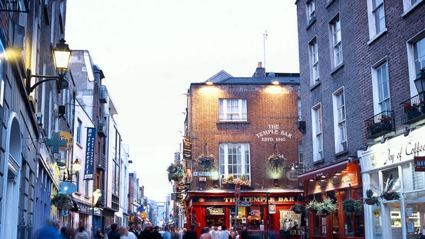 Street scene in temple bar, Dublin, Ireland (Foto: Getty Images)