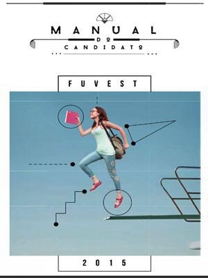Capa do Manual do Candidato do vestibular 2015 da Fuvest (Foto: Reprodução)