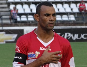 Paulo Sérgio, lateral do CRB (Foto: Leonardo Freire/GLOBOESPORTE.COM)