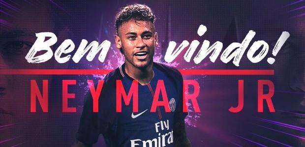 Neymar no PSG: ufa, acabou a novela (Foto: reprodução )