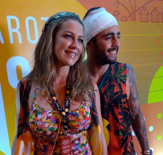 Luana Piovani e Pedro Scooby (Foto: Ed. Globo)