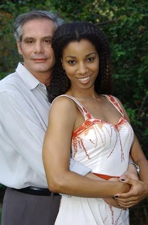 Nuno Melo e Adriana Lessa em Senhora do Destino (Foto: TV Globo / Renato Rocha Miranda)