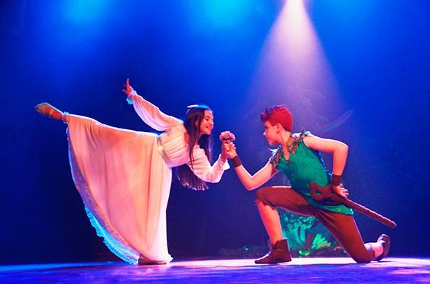 """Cena do espetáculo """"Peter Pan"""", da programação da Mostra Infantil (Foto: Divulgação)"""