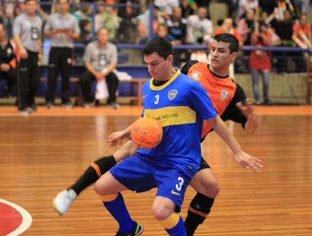 Carlos Barbosa x Boca Juniors, Copa Intercontinental de Futsal (Foto: Renato Zaro/ ACBF)