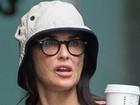 Demi Moore exibe rosto envelhecido durante passeio em Nova York