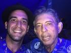 João de Deus assiste a desfiles das escolas de samba no RJ (Reprodução/Instagram)