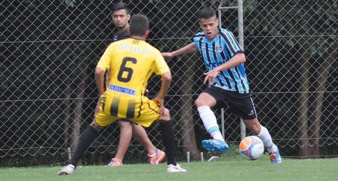 Ramon Alves, lateral-direito sub-20 do Grêmio (Foto: Divulgação/Arquivo Pessoal)