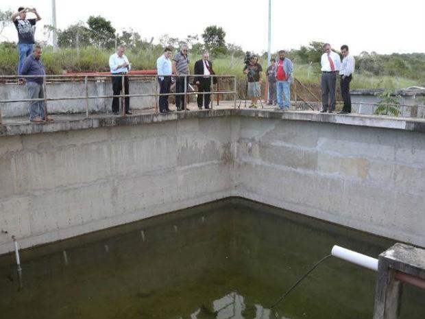 Estação de tratamento de esgoto fica dentro da UFScar (Foto: Prefeitura de Sorocaba/Divulgação)