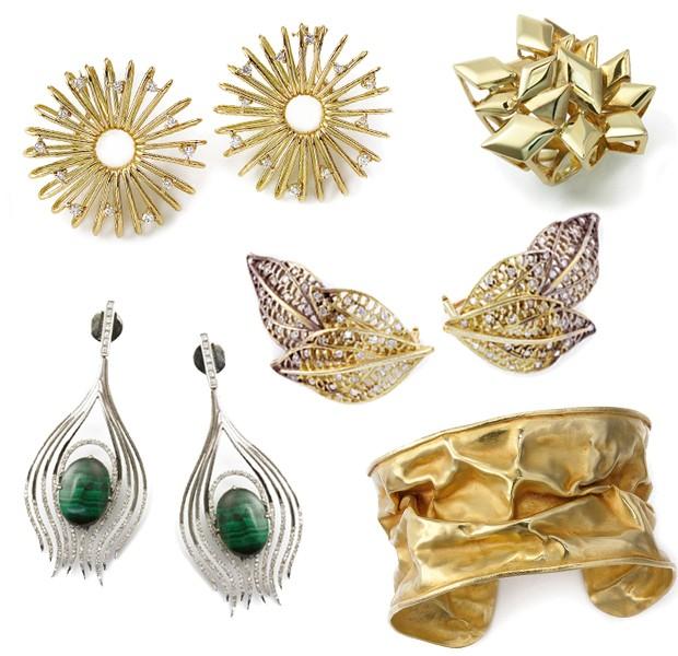 As joias de Ana Khouri, que serão vendidas na NK Store (Foto: Divulgação)