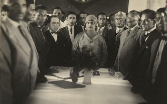 Alzira Soriano foi a primeira prefeita eleita na América Latina, em 1929, na prefeitura de Lajes, no Rio Grande do Norte. Nessa época, as mulheres sequer tinham o direito de votar.  (Foto: Reprodução)