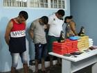 Polícia prende suspeitos e apreende cerca de 50 kg de drogas em Manaus