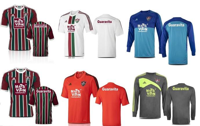 Nova Camisa do Fluminense (Foto: Divulgação/Fluminense)