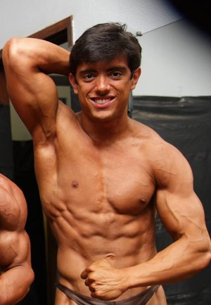 Ayrton Guedes fisiculturista de Uberlândia (Foto: Ayrton Guedes / Arquivo pessoal )